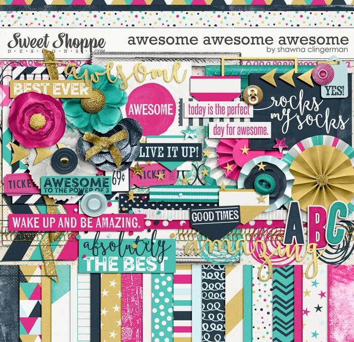 Digital Scrapbooking Day Awesomeness!